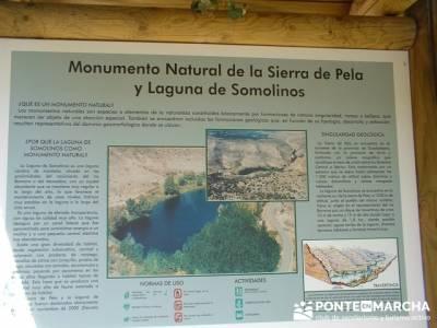 Monumento Natural de la Sierra de la Pela y Laguna de Somolinos;foro senderismo madrid; clubs de mon